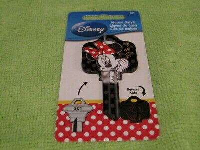 Disney Minnie House Key Blank SC1 (Schlage Lock) D83