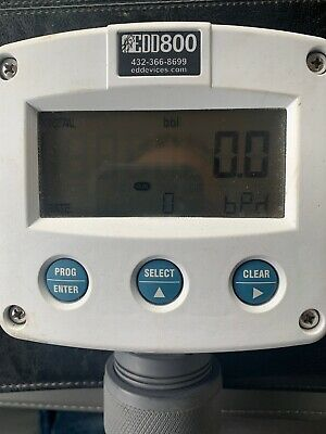 EDD800 Flow Rate Indicator /Totalizer used