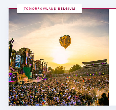 Tomorrowland 2021 2 tickets ( 2X ) W2: Magical Friday Pass