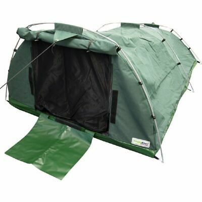 509gsm(15oz) Waterproof Ripstop Canvas Swag (Green) - Double