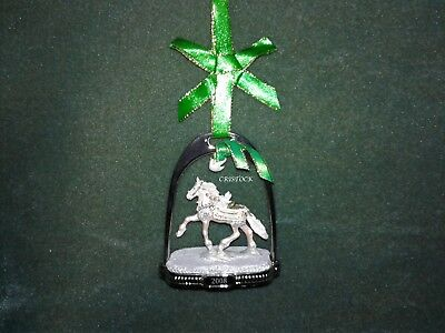 Breyer 2008 Christmas Stirrup Ornament With Box -  Nib