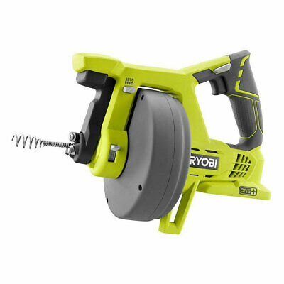 Ryobi 18V Drain Auger Machine Bath Tubs Toilet Snake Plumbing Sinks Pipe Cleaner