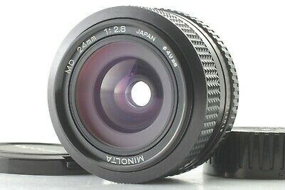 [Near Mint] MINOLTA MD 24mm F2.8 MF Wide Angle Lens for SLR From Japan