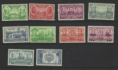 U.S. stamps, Scott # 785-794, Army,Navy Singles unused, MNH