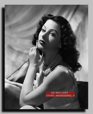 Hv-3153 Actress Hedy Lamarr Sexy Pin Up 8X10 Photo