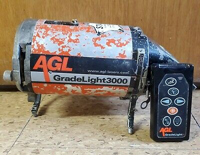 AGL GradeLight 3000Red Beam Pipe Laser with Remote