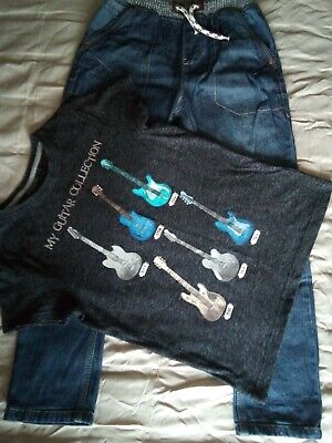 Next boys Jeans and T-Shirt age 9
