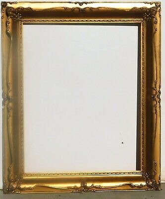 Vintage antique gold leaf frame fits 16 x 20 painting
