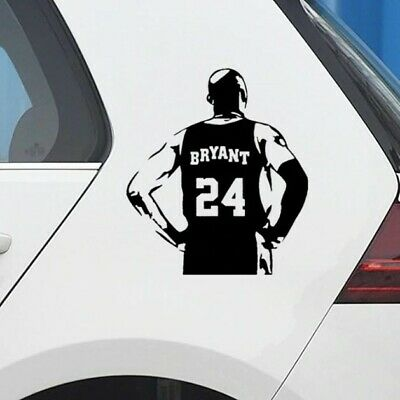 Car Decal Kobe Bryant  Black Mamba Vinyl Sticker Window Wall LA Lakers 24 NBA BB