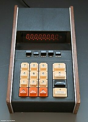 ELECTRIC CALCULATOR MODEL 2002 ADDMASTER wohl um 1973