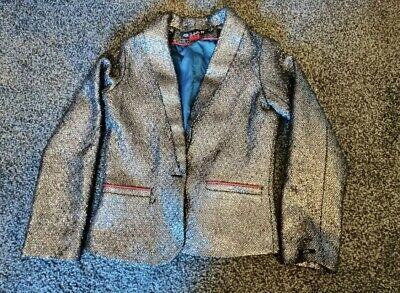 Lili Gaufrette Designer Girls Suit jacket 11-12 years old BNWOT snakeskin effect