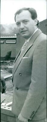 Vintage photograph of Clive Bamford