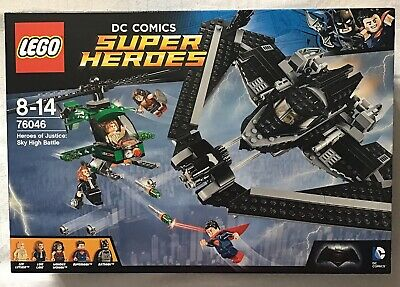 Lego 76046 Heroes Of Justice Sky High Battle Brand New Factory Sealed Bnisb