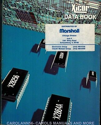 XICOR Data Book 1985