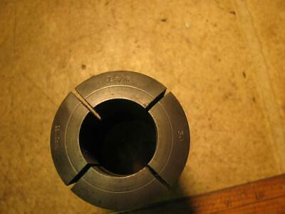 "Hardinge 3J 1-3/16"" Fractional Smooth Round Collet without Internal Threads"