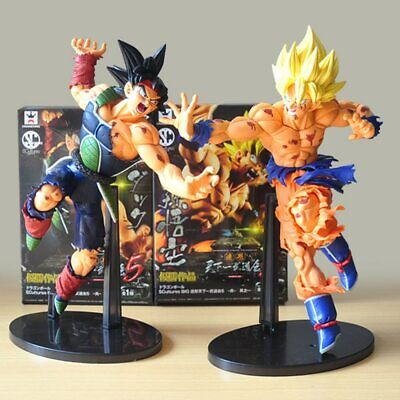 Dragon Ball Z Figurine Collection Action DBZ Stars Super Saiyan Son Goku Bardock