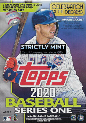 2020 Topps Baseball Series 1 Blaster Box EXCLUSIVE RC Medallion Possible AUTOS