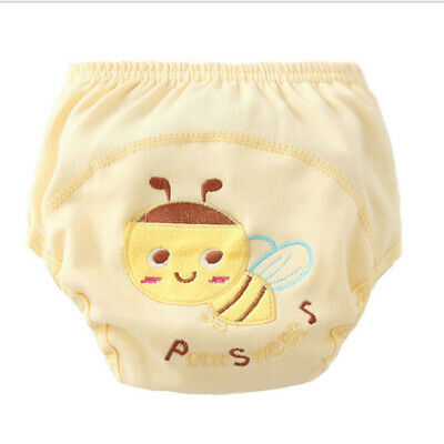 Waterproof Baby Boys Girls Training Pants Cloth Diaper Nappy Underwear LP