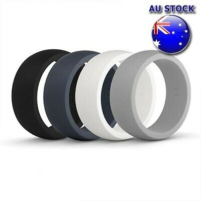Wholesale Multi Colour Comfortable Flexible Silicone Rubber Wedding Rings