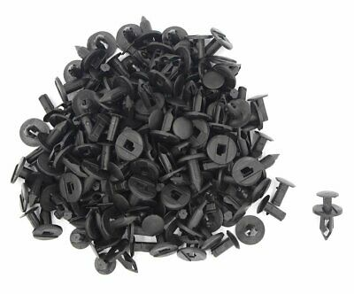 30x 8mm Plastic Black ATV Fender Clips For Suzuki King Quad Vinson Honda Acura