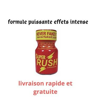 poppers rush stimulant sexuel libido effets intense 10 ml red excitation maximum
