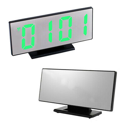 1pc Digital LED Large Screen Alarm Clock Electronic Watch Mute Clock for Office