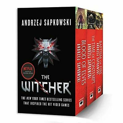 The Witcher Boxed Set: Blood of Elves, The Time of Cont - Paperback (03 Oct 2017
