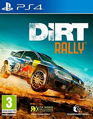 Dirt Rally (PS4) BRAND NEW SEALED RACING