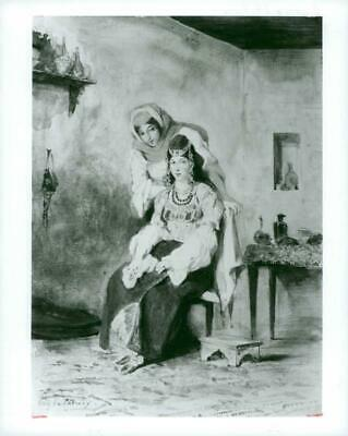 Vintage photograph of The wife of Abraham Benchimol and one of their daughters