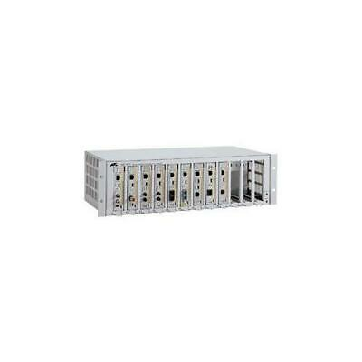Allied Telesis AT-MCR12Media Converter Chassis RACKMOUNT CENTRECOM 19IN