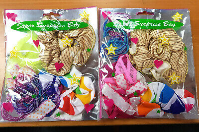 JOBLOT - CLEARANCE - 144 x Super Suprise Bags Hair Accessories