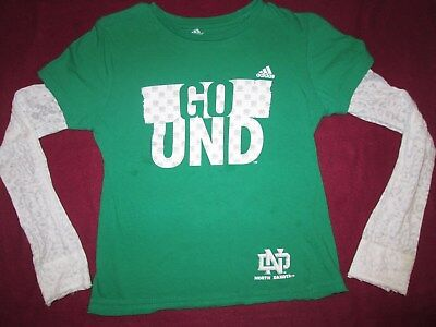 Girls Size 14,Top,Und,Sioux,Addidas T-Shirt,Unique Des Long Sleeve,Fighting,Hawk
