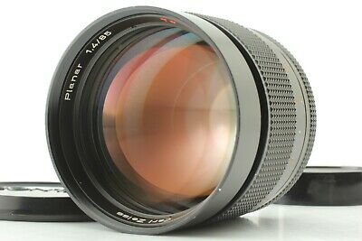 【EXC+5】 Contax Carl Zeiss Planar T* 85mm f/1.4 AEG MF Lens C/Y Mount From Japan