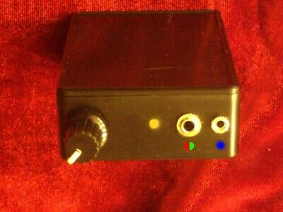 Bob Beck Blood Electrifier Device W Constant Current Colloidal Silver Generator