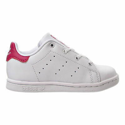 ADIDAS STAN SMITH WHITE HOT PINK CLASSIC TODDLER BABY SIZE SNEAKERS BB2999