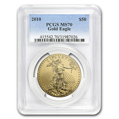 2010 1 oz Gold American Eagle MS-70 PCGS - SKU #58204