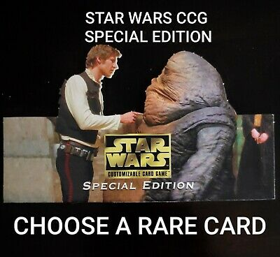 Star Wars CCG Special Edition Rare Single Cards - Choose Your Card - SWCCG