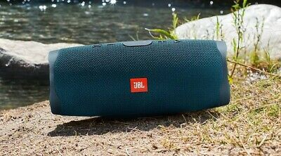 BRAND NEW JBL Charge 4 Portable Bluetooth Speaker Ocean Blue.