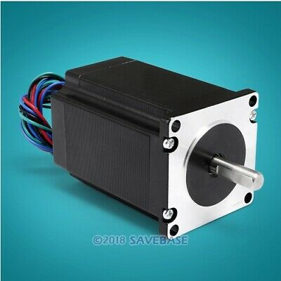 ENGMATE Nema 23 Stepper Motor 278Oz-In 2-Phase 4A for CNC Mill Router Cutter