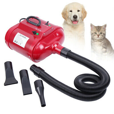2800W Toilettage Séchoir Pulseur Chiens Chats Pet Hair Dryer Dog Double moteur