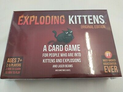 Exploding Kittens: A Card Game About Kittens And Explosions New Sealed Genuine