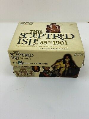 This Sceptred Isle 55bc - 1901 Audio Cassette Tapes Box set Vol 1-10 BBC UK