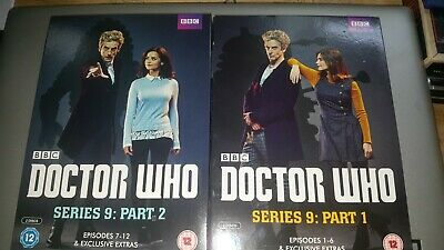 Bbc Dr Doctor Who The Complete Ninth Series 9 Dvd Boxset Uk R2 Part 1 & 2