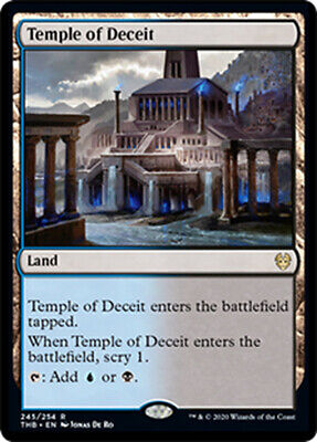 Theros Beyond Death  MTG  Temple of Deceit  X4  Magic
