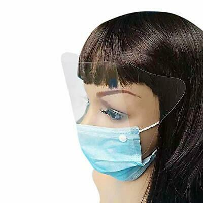 3 Ply Surgical Flu Virus Face Masks With Earloop With Eyeshield  Fog Resistant