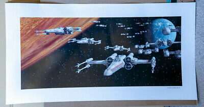 Star Wars X-Wing Attack Poster