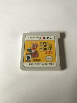 Super Mario Maker - Cartridge Only - Nintendo 3DS - Free Shipping