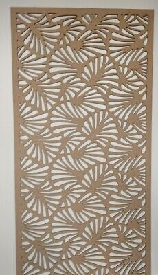 Radiator Cabinet Decorative Screening Perforated 3mm & 6mm thick MDF lasercutMP2