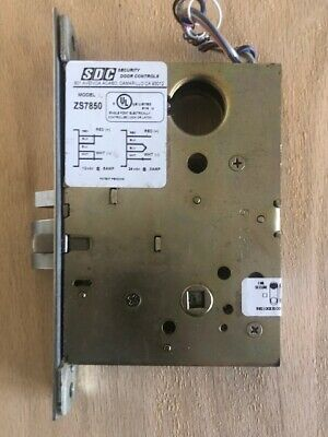 SDC ZS7850 Electrified SCHLAGE L9080 Mortise Lock. CHASSIS ONLY-12/24 VDC
