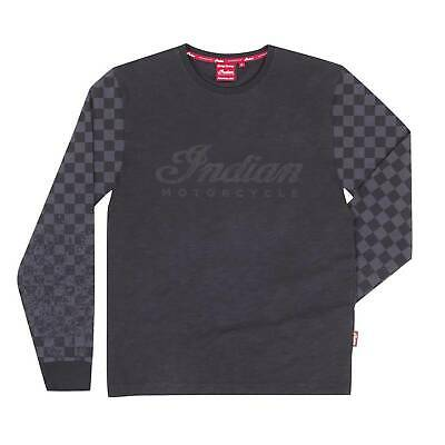 Indian Motorcycle Mens LS Checkered